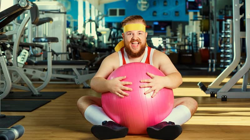 funny fitness photo dreamstime lacheev - For fitness fads trivia quiz Image
