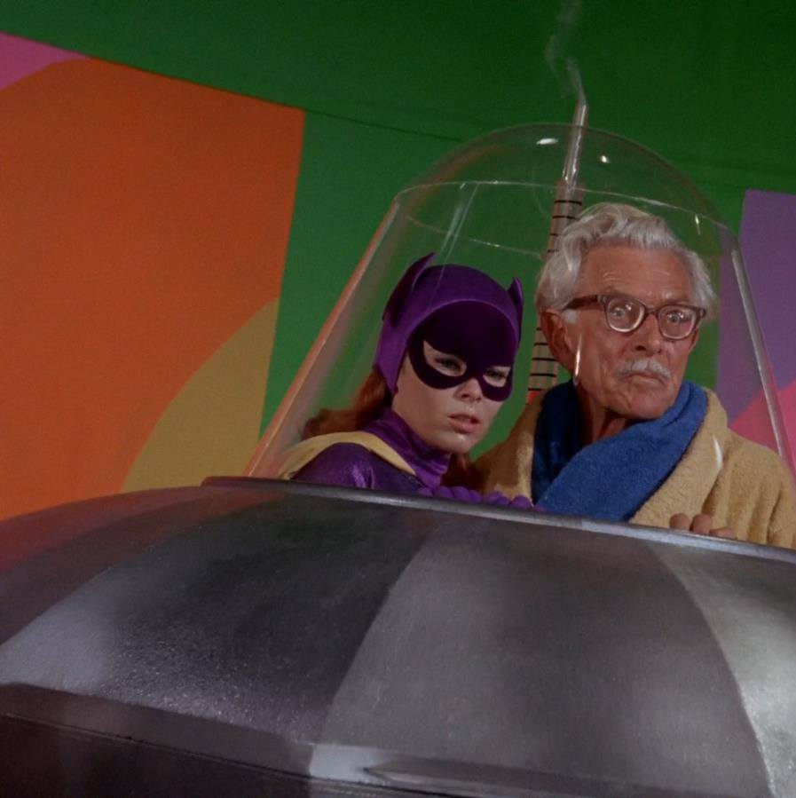 Even in the series' finale episode, 'Minvera, Mayhem and Millionaires' (1968), Batgirl is captured along with Alfred.
