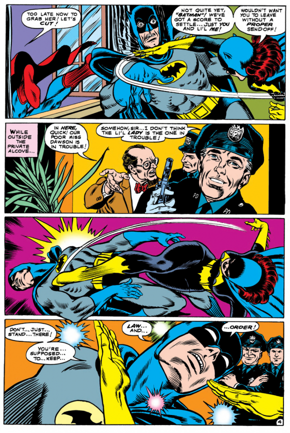 Detective Comics #385, March 1969 showcased the fighting skill of Batgirl.