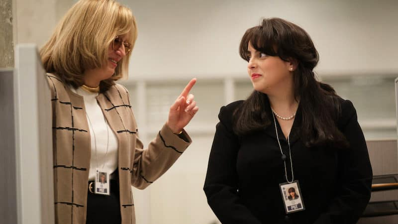 Sarah Paulson as Linda Tripp and Beanie Feldstein as Monica Lewinsky in 'Impeachment: American Crime Story' (Tina Thorpe/FX/TNS) Image