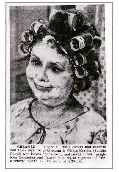 Sandra Gould from the episode, Splitsville. She was literally a scream playing the role when witnessing the witchcraft.