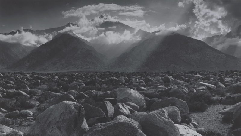 Ansel Adams: Compositions in Nature Image