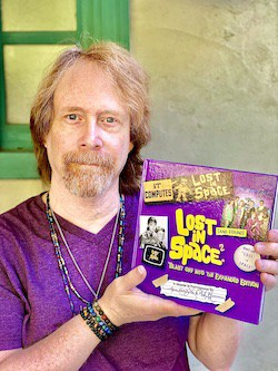 Bill Mumy with the new book - provided by the publisher