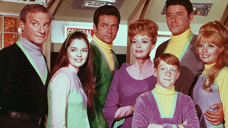 Lost in Space cast from Season 3 - CBS publicity photo. For article, Remembering 'Lost in Space' Image