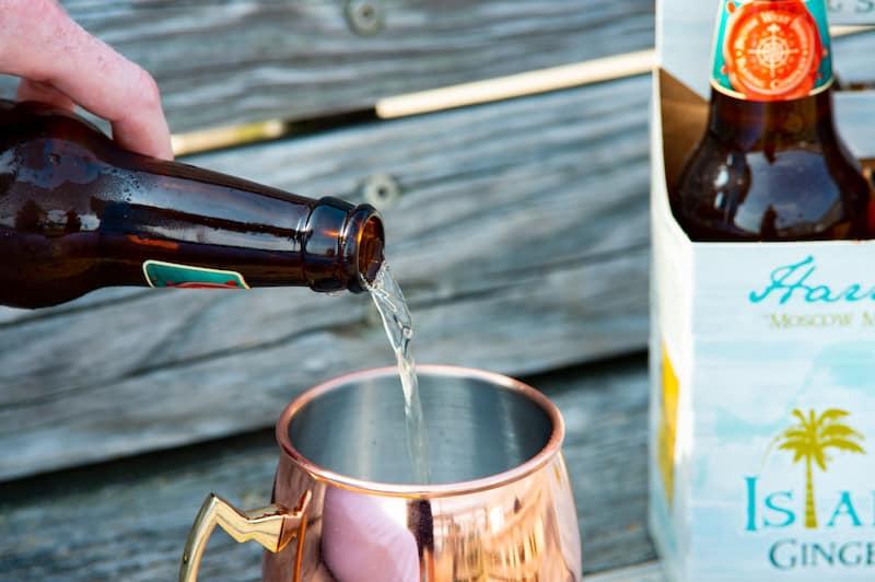 Harriott's Legacy ginger beer