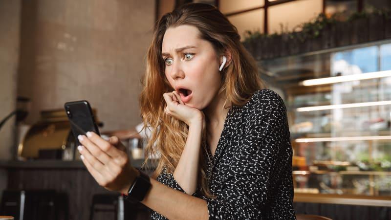 Woman shocked over rumor Image