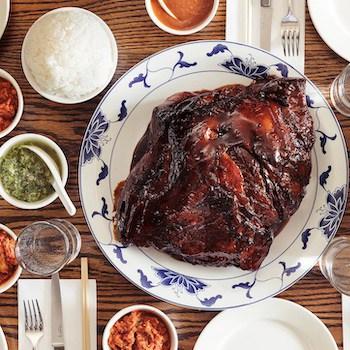 Half Bo Ssäm Dinner for 4-6. From Momofuku. Image from Goldbelly.com