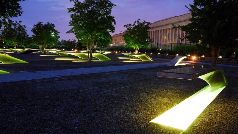 Pentagon 911 memorial for 9/11 tribute poem 'Something in My Eye' Image