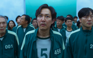 'Squid Game' Star Lee Jung-jae (No. 456) is a man in a deadly competition in the Netflix drama. Screenshot from preview on Netflix official site Image