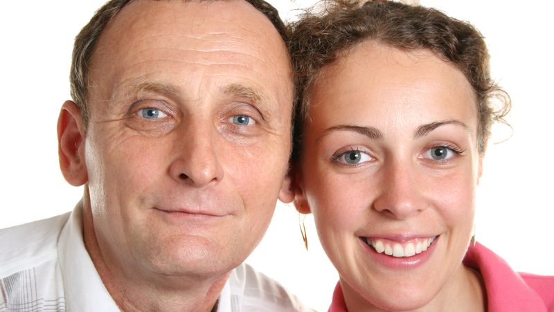 A May-December couple (photo credit: pavel losevsky dreamstime) For article, Advice from Amy: 'My Daughter Is Dating an Older Man' Image